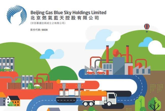 北京燃氣藍天(06828-HK)獲1億授信額度