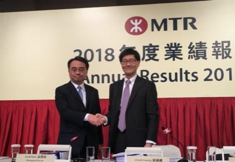 港鐵(00066-HK):全年盈利跌近5% 歐陽伯權7月接任主席