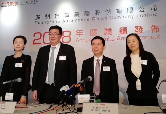 【現場直擊】廣汽曾慶洪:相信新能源汽車不會是泡沫