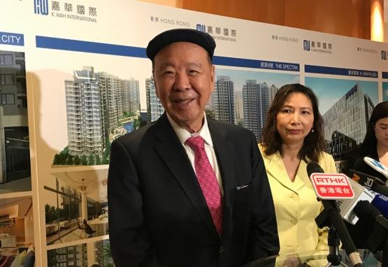 【現場直擊】嘉華呂志和談貿易摩擦:香港樓市自有需求在,大家「睇定啲」