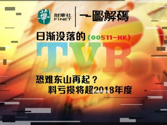 一圖解碼:日漸沒落的TVB恐難東山再起?料虧損將超2018年度