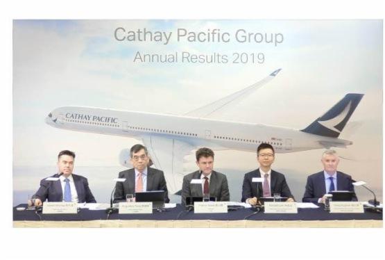 【會議直擊】國泰航空:下半年利潤驟減近九成,前景依然不妙