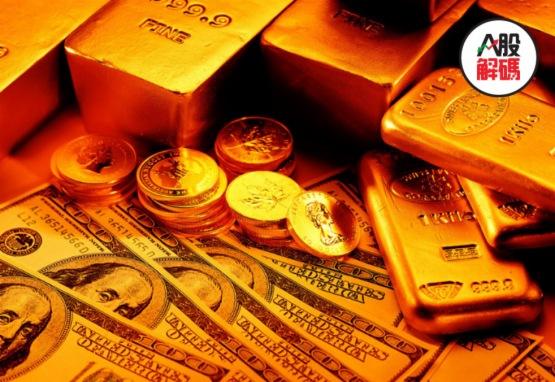 黃金直線跳水盤中跌破1900美元關口 貴金屬概念股重挫大跌