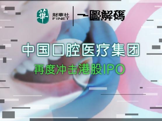 一圖解碼:中國口腔醫療集團再度衝擊港股IPO