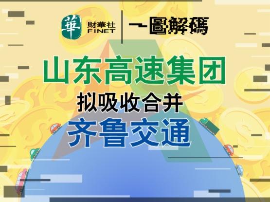 一圖解碼:山東高速集團擬吸收合併齊魯交通