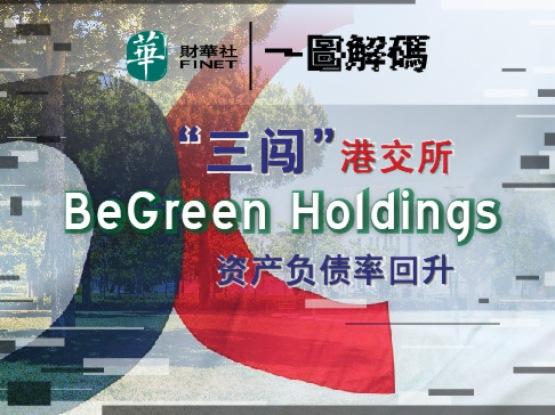 一圖解碼:「三闖」港交所 BeGreen Holdings資產負債率回升