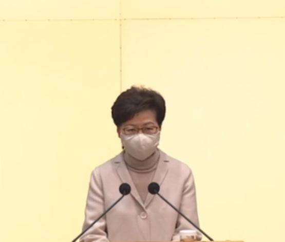 4萬2人預約接種疫苗 林鄭:坊間有抹黑失實報道